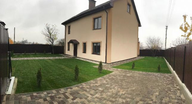 Продажа большой двухэтажный дом с 5 сотками земли в городе Буча. Агентство недвижимости