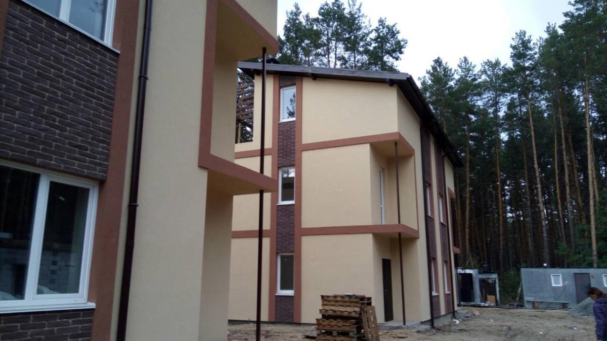 Продажа дом дуплекс с террасой и видом на сосны в Гостомеле. Агентство недвижимости