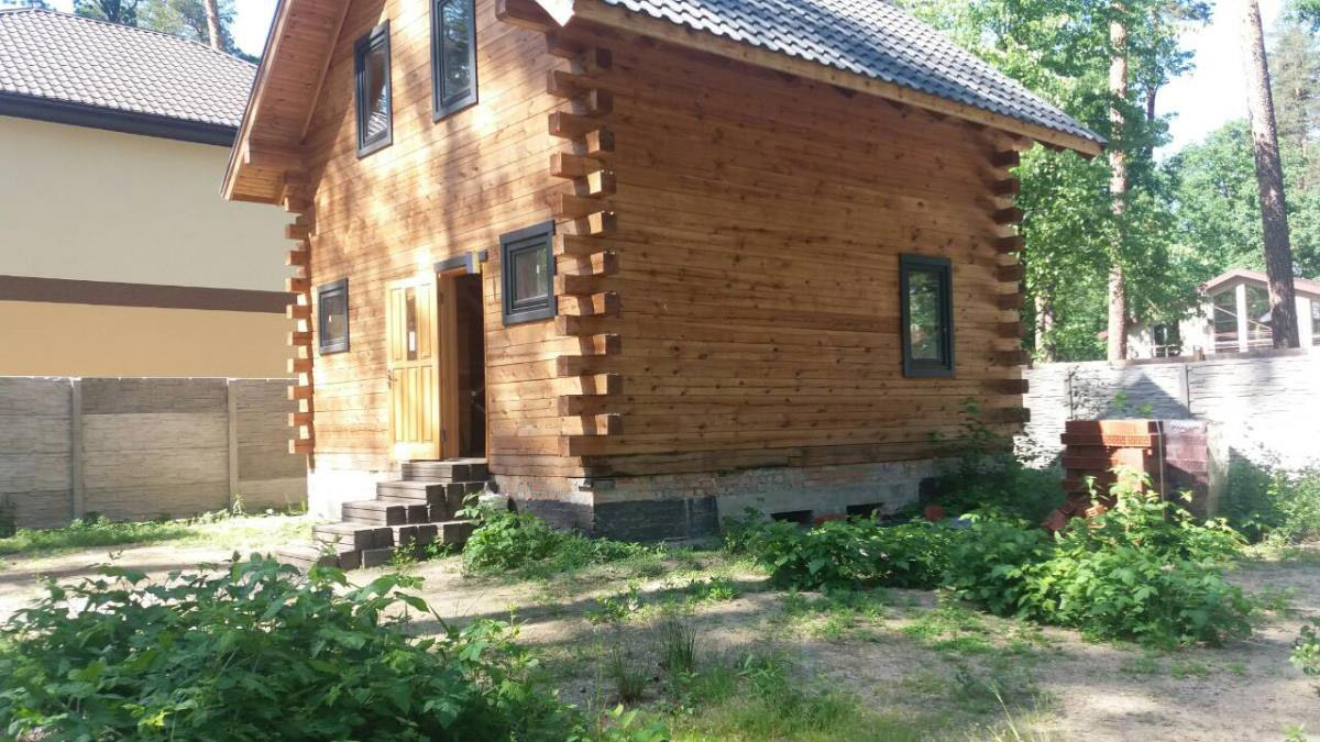Продажа дом из сруба в Буче. Агентство недвижимости