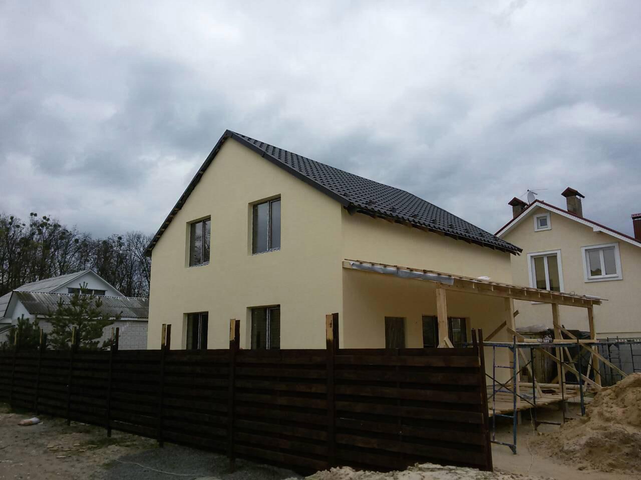 Продажа двухэтажный дом с 6 сотками земли в Ворзеле. Агентство недвижимости