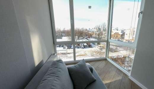 Продажа однокомнатная смарт-квартира на 3 этаже от застройщика в ЖК 4U улица Наумова Киев. Агентство недвижимости