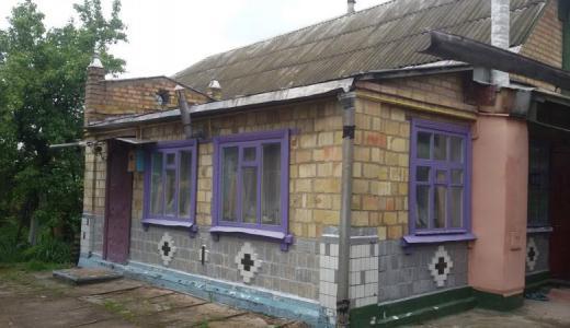 Продажа жилой дом с участком земли в Блиставице возле Гостомеля. Агентство недвижимости
