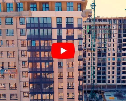 Видео презентация обзор ЖК Центральный г. Ирпень