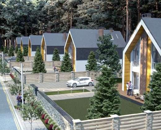 Коттеджный городок Barn House под Киевом. Буча