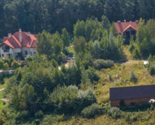 Коттеджный городок Forest Villas под Киевом. Стоянка