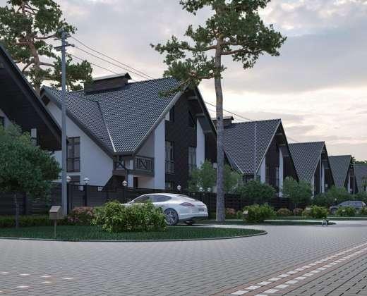 Купить Таунхаус Park Residence 2 Буча. Продажа домов в таунхаусах