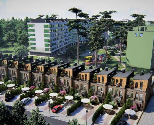 Купить Таунхаус Park Town Гостомель. Продажа домов в таунхаусах
