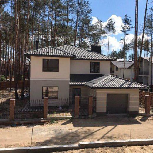 Продажа большой шикарный дом с ландшафтным дизайном в лесной зоне в Гостомеле. Агентство недвижимости