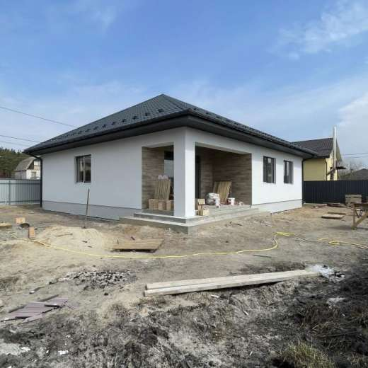 Продажа одноэтажный отдельно стоящий новый дом Ирпень. Агентство недвижимости