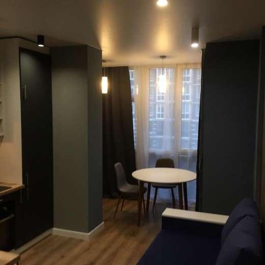 Продажа новая 1 однокомнатная квартира с дизайнерским ремонтом ЖК Гранд Бурже Буча. Агентство недвижимости