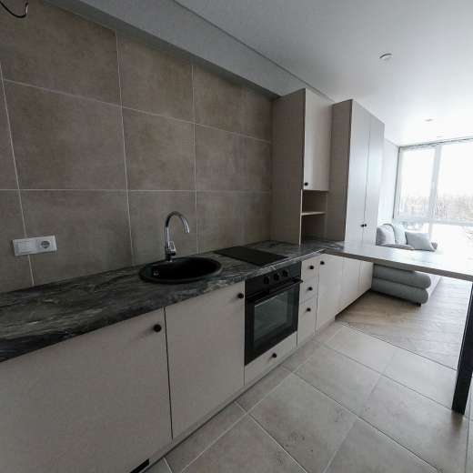 Продажа однокомнатная смарт-квартира на 6 этаже от застройщика в ЖК 4U улица Наумова Киев. Агентство недвижимости