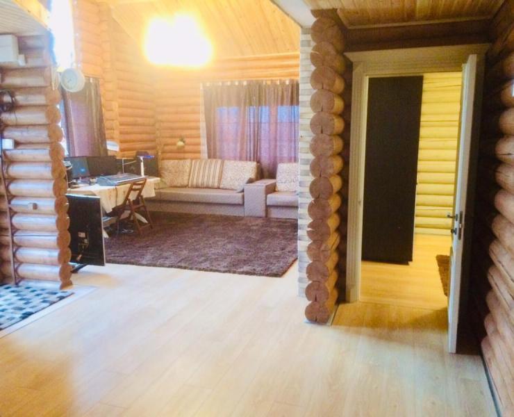 Продажа дом из сруба с ремонтом мебелью и техникой село Бобрица. Агентство недвижимости