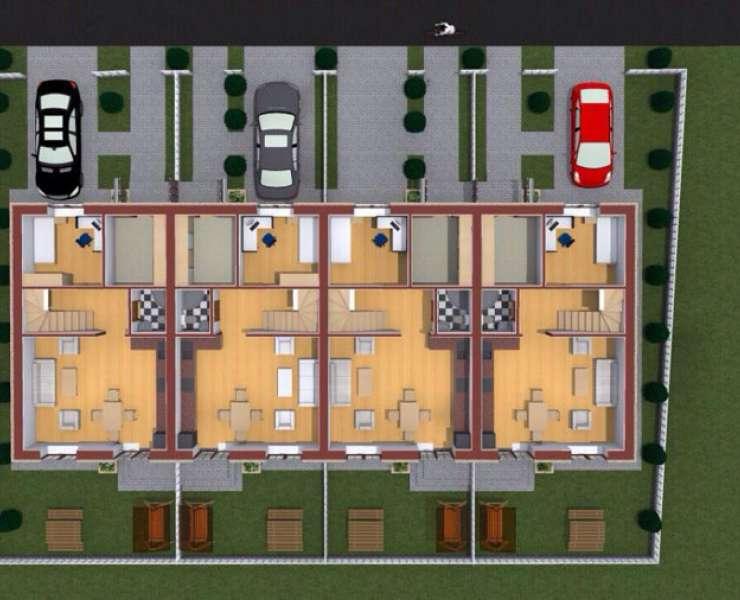 Продажа новый таунхаус в центре Бучи. Агентство недвижимости