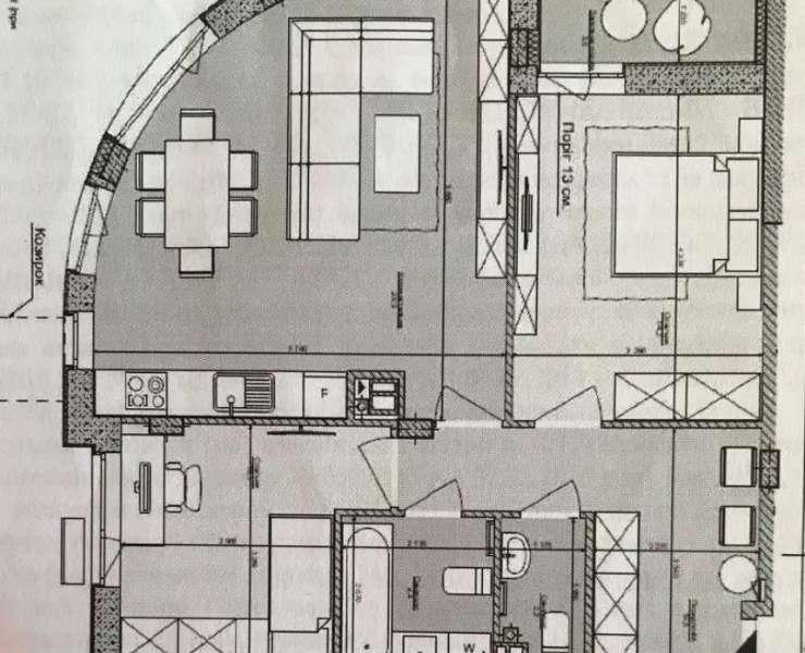 Продажа трехкомнатная квартира интересная современная планировка ЖК Respublika улица Большая окружная дорога Киев. Агентство недвижимости