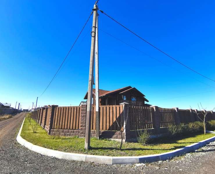 Купить готовый дом сруб под Киевом. Продается сруб с мебелью в коттеджном городке в Михайловке-Рубежовке